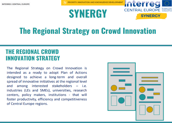 SYNERGY Crowd Innovation Strategy; Image Source: SYNERGY Project