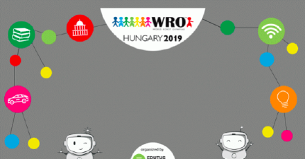 The final of the World Robot Olympiad 2019 was held in Győr, Hungary on 8-10 November