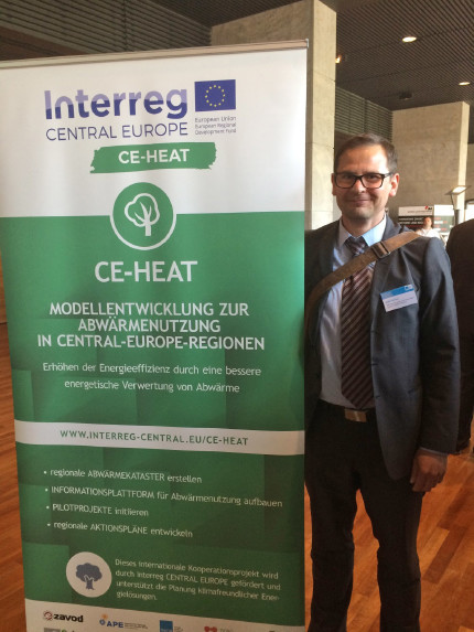 The preliminary results of the project CE-HEAT -  ThEGA-Forum