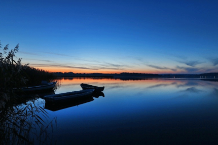 Quiet moments after sunset - Photo by Björn Melms