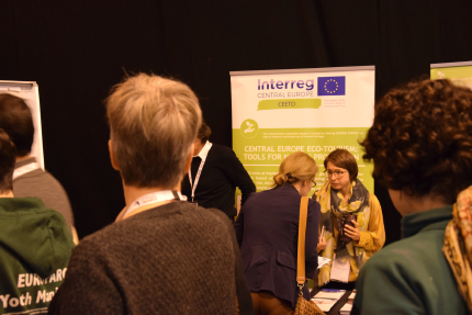 CEETO stall at EUROPARC Conference 2018