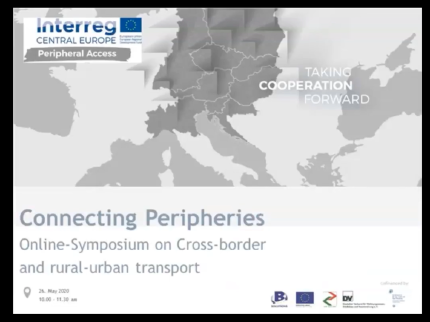Connecting Peripheries: Online-Symposium on Cross-border and rural-urban transport.