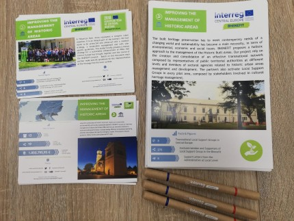 Urban walk and infoday in Karlovac