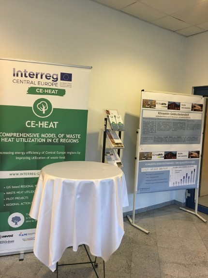 CE-HEAT at the E-nova 2018 international conference