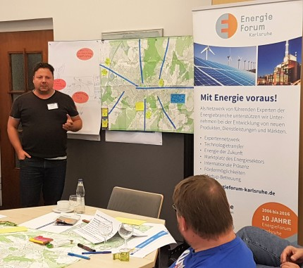 Exchanging the visions for eBikes in Karlsruhe 2025+