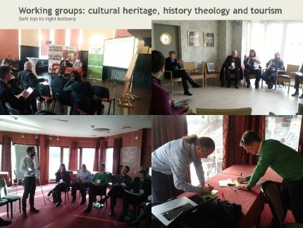 Pictures of the working group sessions in Wroclaw
