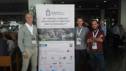 the 44 Annual Congress of Hydrogeologists in Dubrovnik