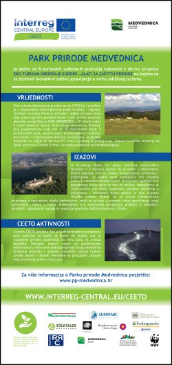 CEETO-Roll-up-Medvednica-Croatian