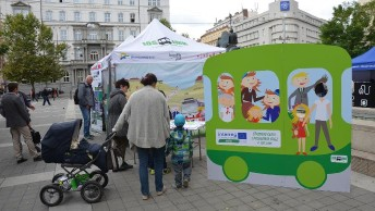 1st Targeted event took place in Brno in occasion of the European Mobility Week