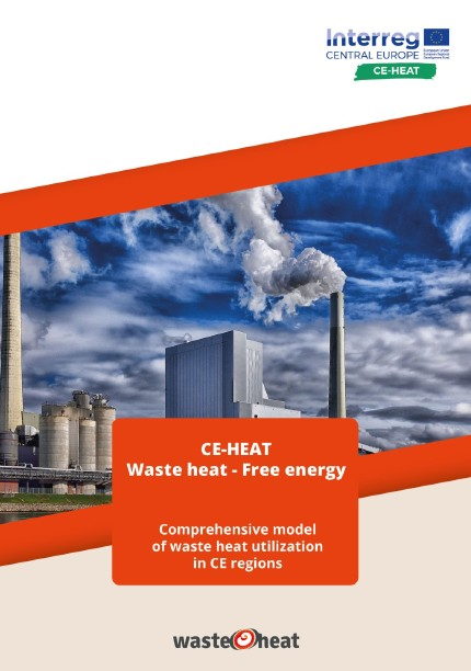 Comprehensive model of waste heat utilization in CE regions brochure