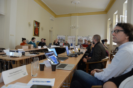 Workshop in Nitra about Public archaeology (photo: Hans Reschreiter)