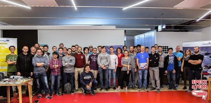 Trento Pilot: #HACKDEV17 - Group picture with hackers, mentors and organizers