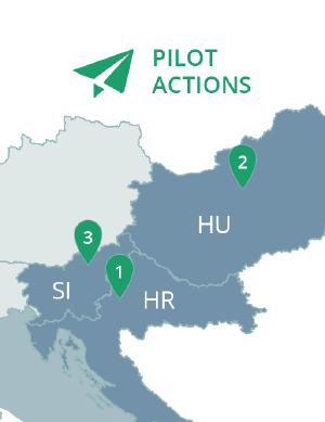 3 Pilot Actions in Central Europe