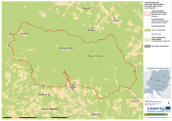 Krkonoše National Park and surroundings: GI, not GI and GI under specific circumstances (CORINE)