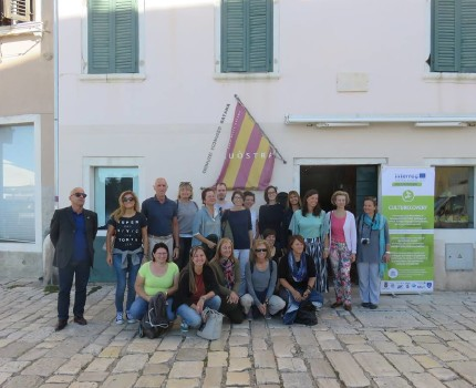 CULTURECOVERY Team in Rovinj