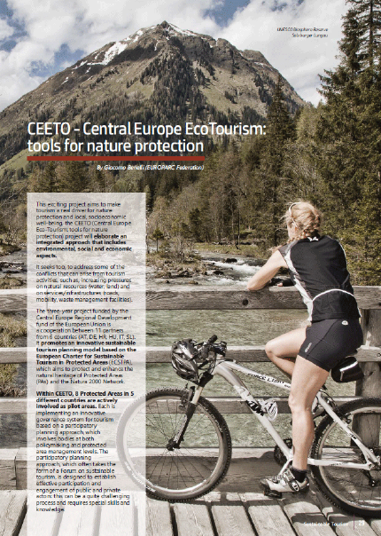 CEETO article on Protected Areas In-Sight