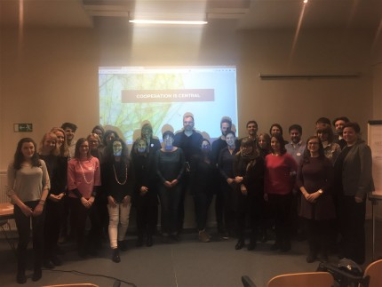 Interreg CE communication seminar 2018