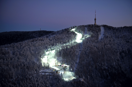 Ski centre in Medvednica