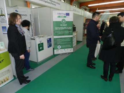 Project CE-HEAT attended the MEGRA and GREEN international fair in Gornja Radgona, Slovenia