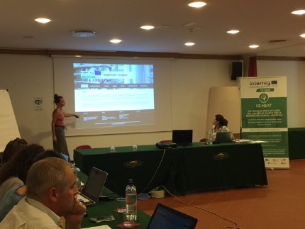 Project Group Meeting in San Daniele, Italy