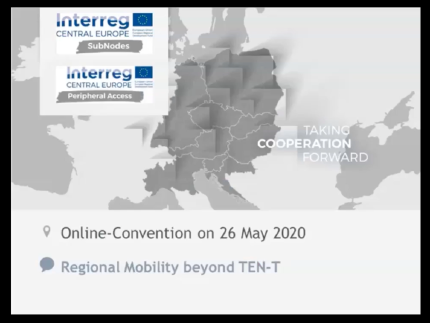 Online-Convention on regional mobility beyond TEN-T