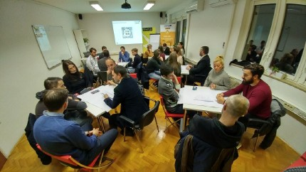 Startup Incubator Rijeka hosted the URBAN INNO world café session