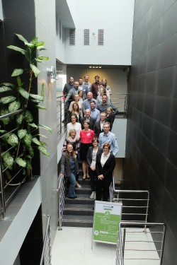 group photo kick-off